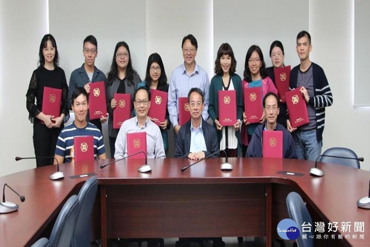 提升職涯輔導能量 長榮大學13位教職員獲得顧問師初階證照
