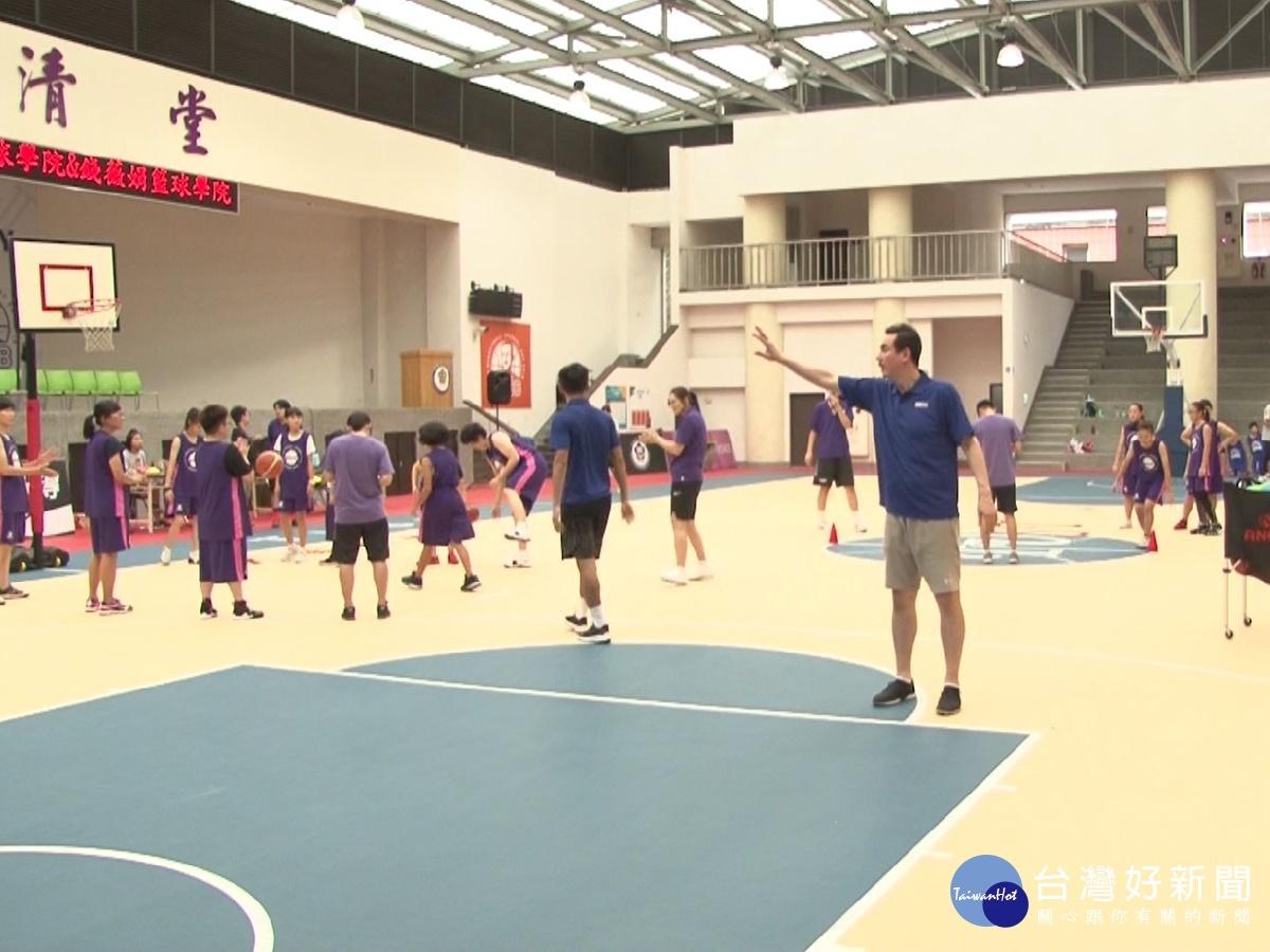 國手打造籃球學院 帶領學員成長茁壯