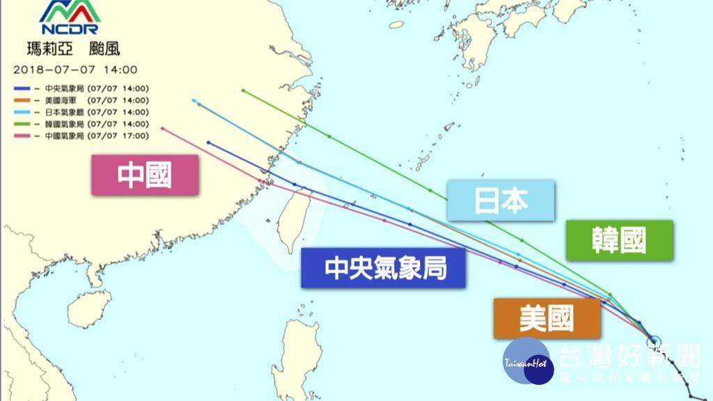 夜線/強颱瑪莉亞更接近台灣 台中以北恐進暴風圈