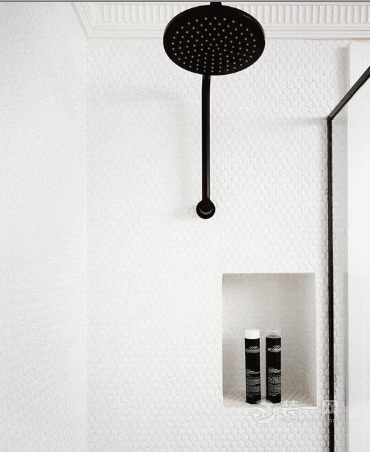 馬賽克瓷磚衛生間怎麼裝好看?不同區域使用美感各異