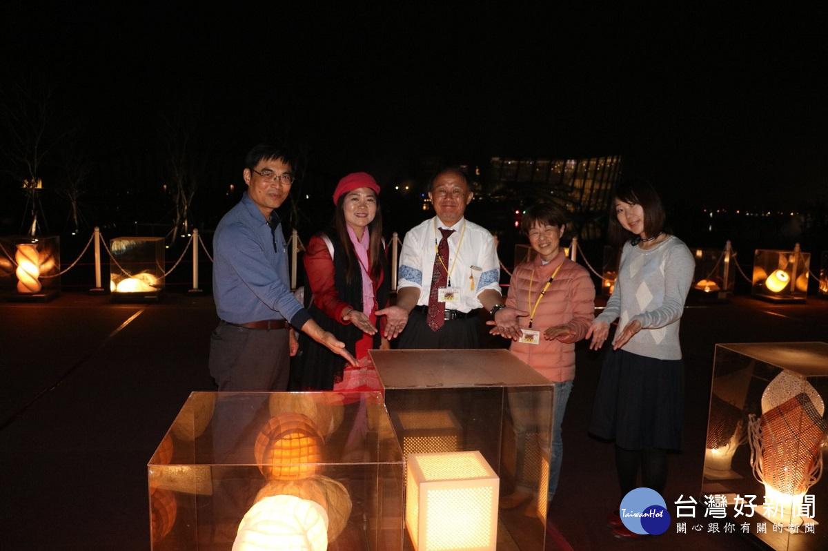 日本美濃和紙藝術燈展交流 首度在故宮南院璀燦登場