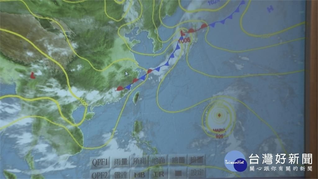 強颱瑪莉亞侵襲機率 南投以北逾50%