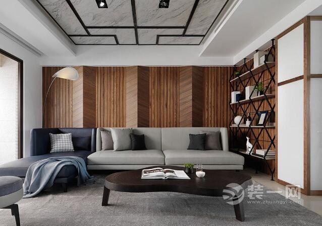獨棟別墅設計效果圖 線條豐富的美式休閑風格裝修