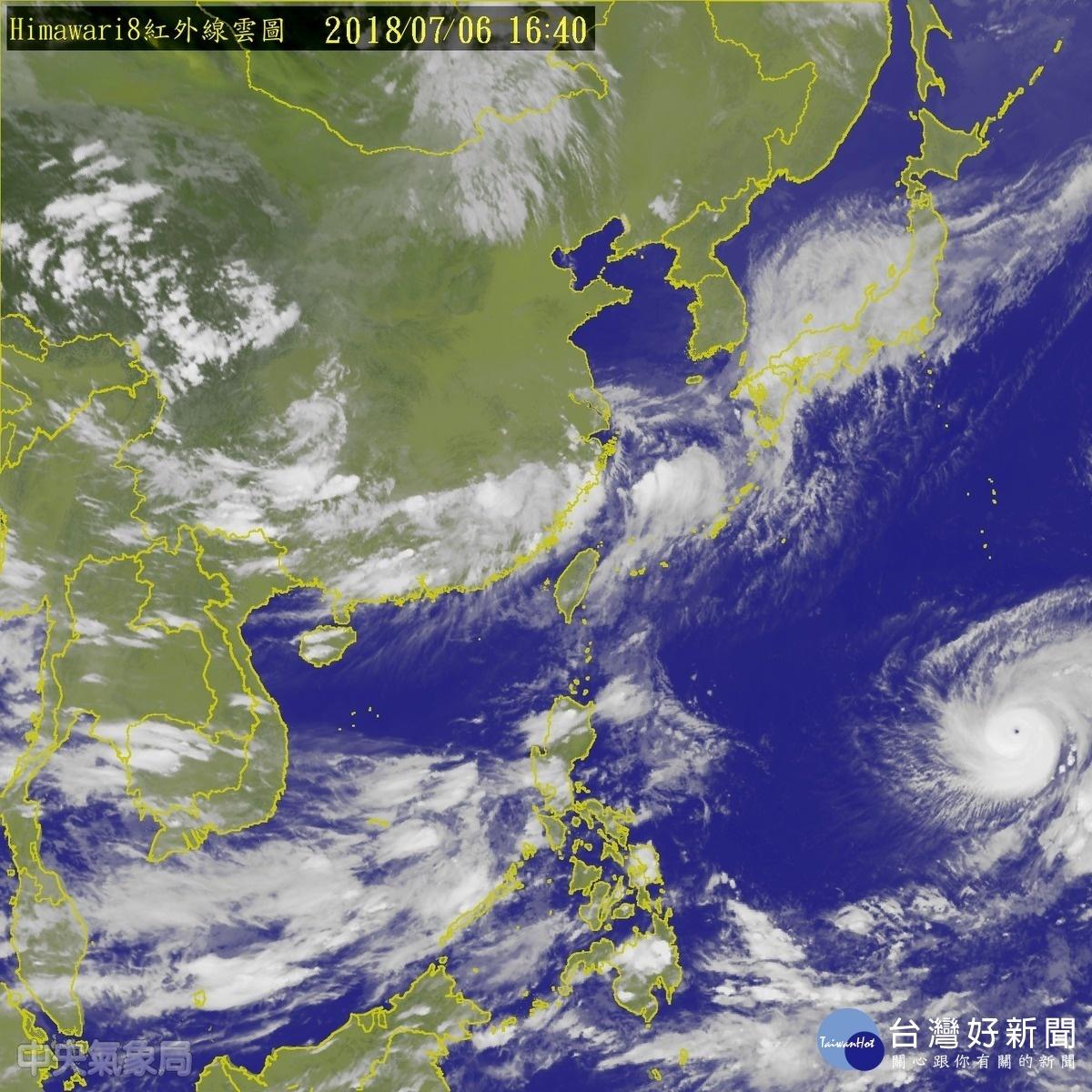 瑪莉亞升格強烈颱風 氣象局估朝琉球方向移動 暫無海警構成要件