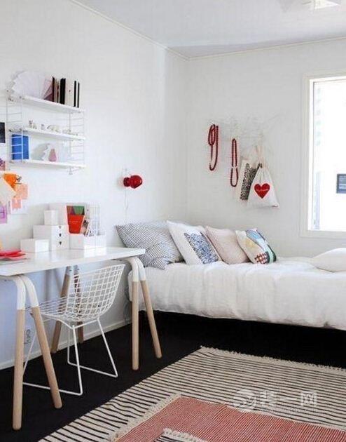 小戶型迷你小卧室裝修要點 6平米里也有大世界