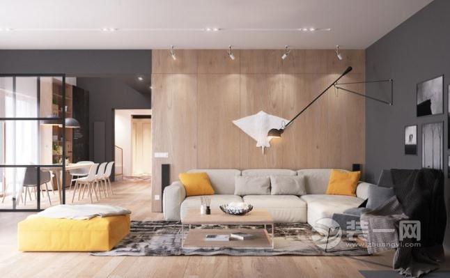 北歐簡約風複式大公寓 清雅素凈文藝范兒十足