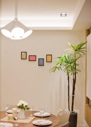 110平休閑風格裝修效果圖 小清新用色造舒適小資意境