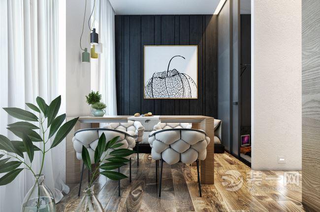 摩登范兒氣質單身公寓 簡約大氣有很優雅