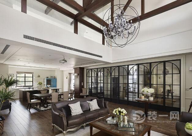 美式風格別墅裝修效果圖 細節處理展現大氣質感追求