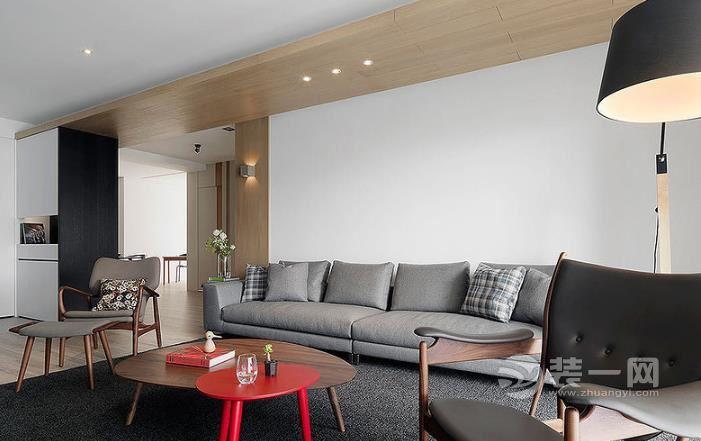 冷靜時尚的舒適大宅居設計 宜家風格裝修樣板間