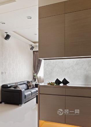 兩室改三室榻榻米裝修效果圖 半開放式廚房解決油煙