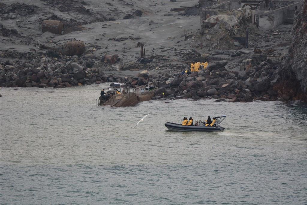 紐西蘭白島火山罹難者增至19人 含2名失蹤者